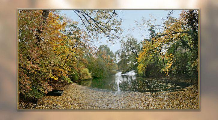 Mein See im Herbst...