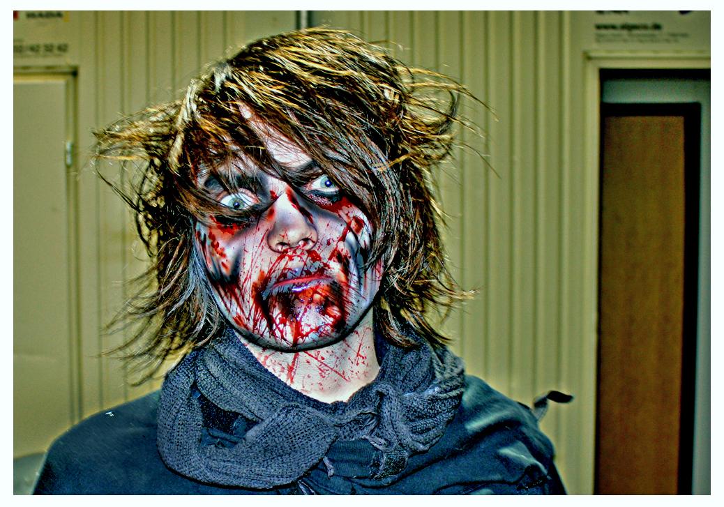 Mein Sohn als Zombie...