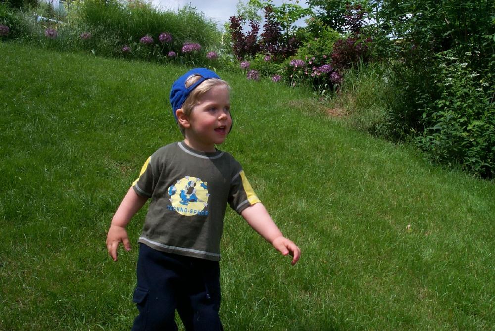 Mein Sohn in jungen (3) Jahren *lach* ...