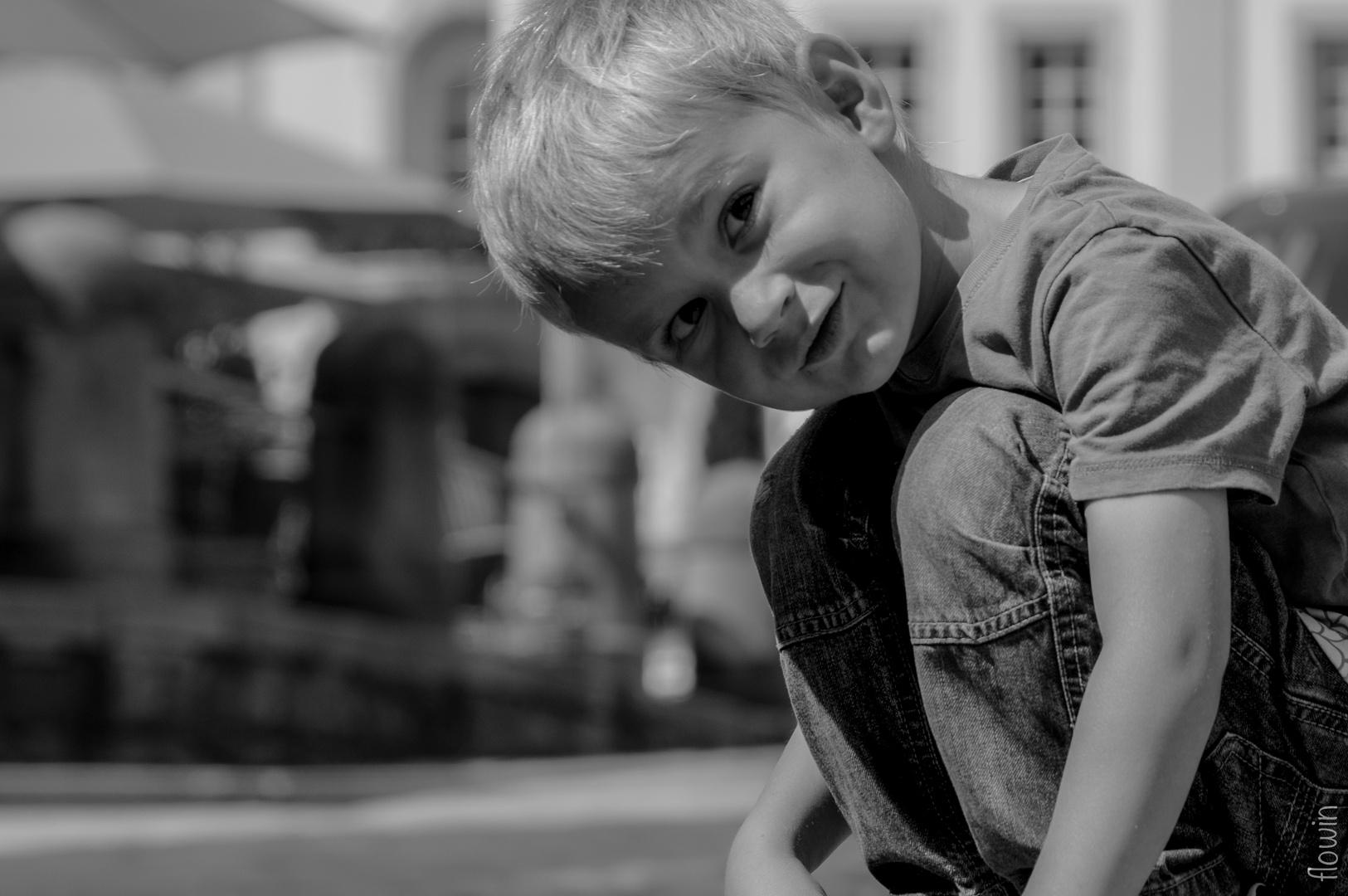 Mein Sohn Janus, 4 Jahre