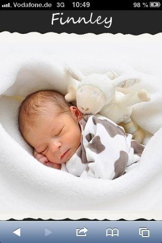 Mein Sohn sein erstes Foto :)
