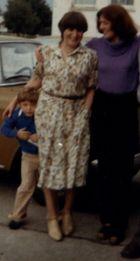 Mein Sohn,Schwester und ich  (vor 25 Jahren)
