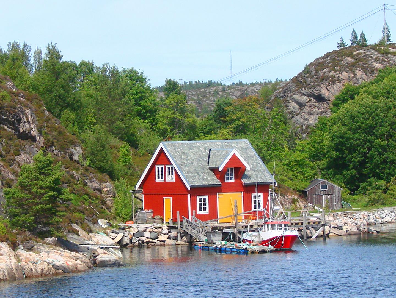 Mein Sommerhaus, mein Boot.........
