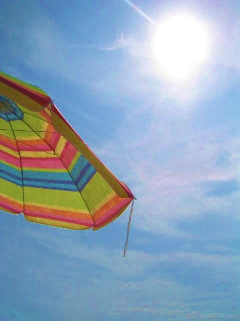 Mein Sonnenschirm