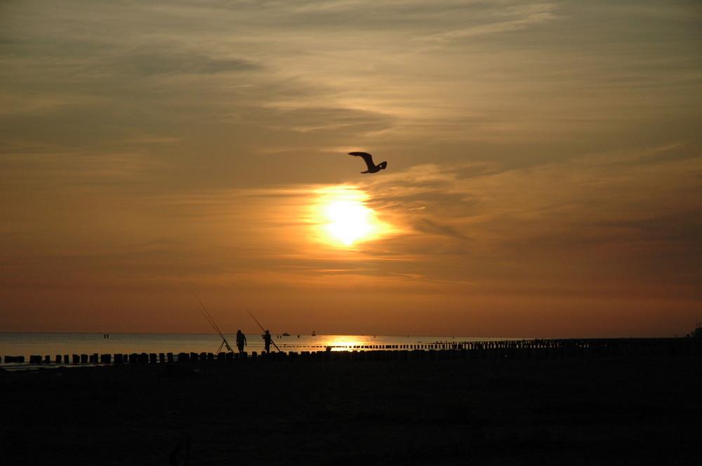 mein Sonnenuntergang