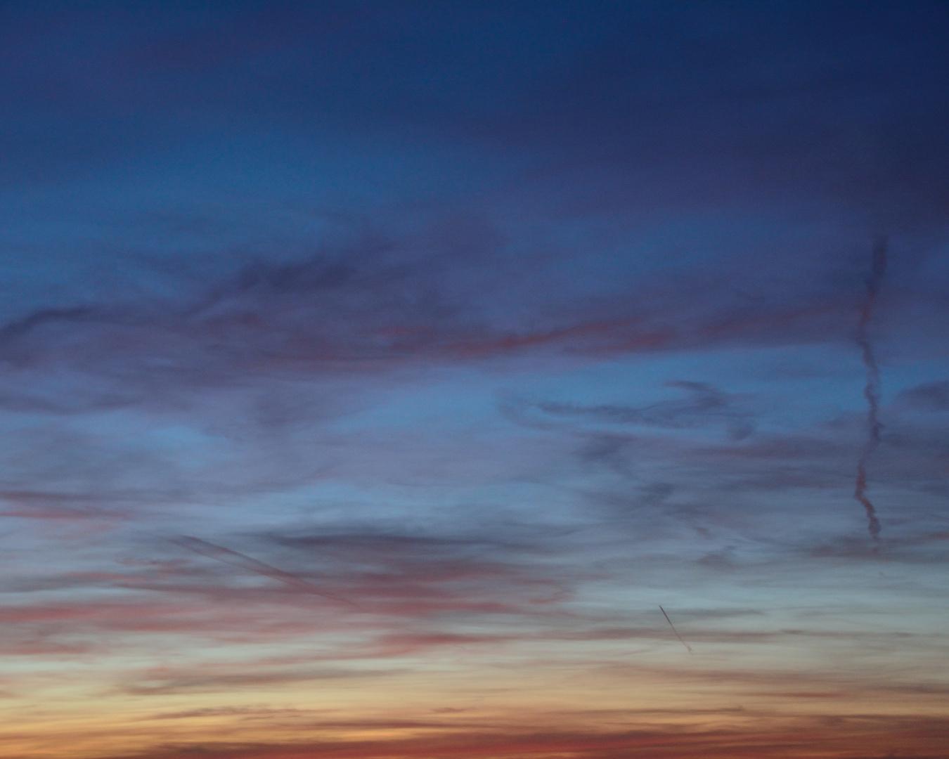 Mein Sonnenuntergang von meinem Balkon 06