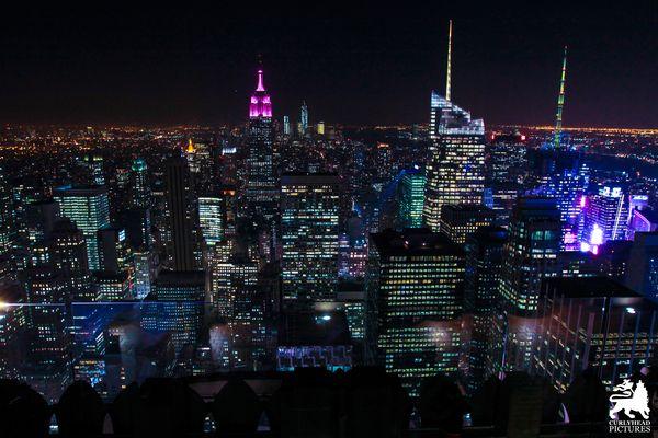 Mein Start in Amerika @ Rockefeller Center