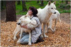 (M)ein Tag bei Tanja Askani und ihren Wölfen