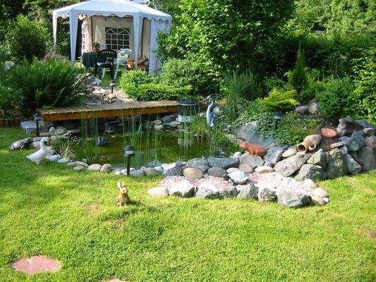 Mein Teich im Garten
