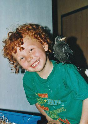 Mein Vogel und ich.