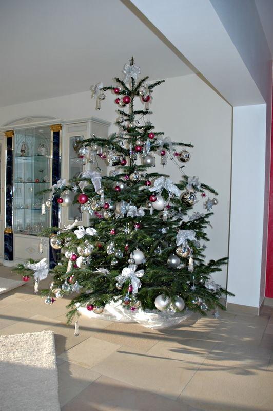 Mein Weihnachstbaum heute geschmückt