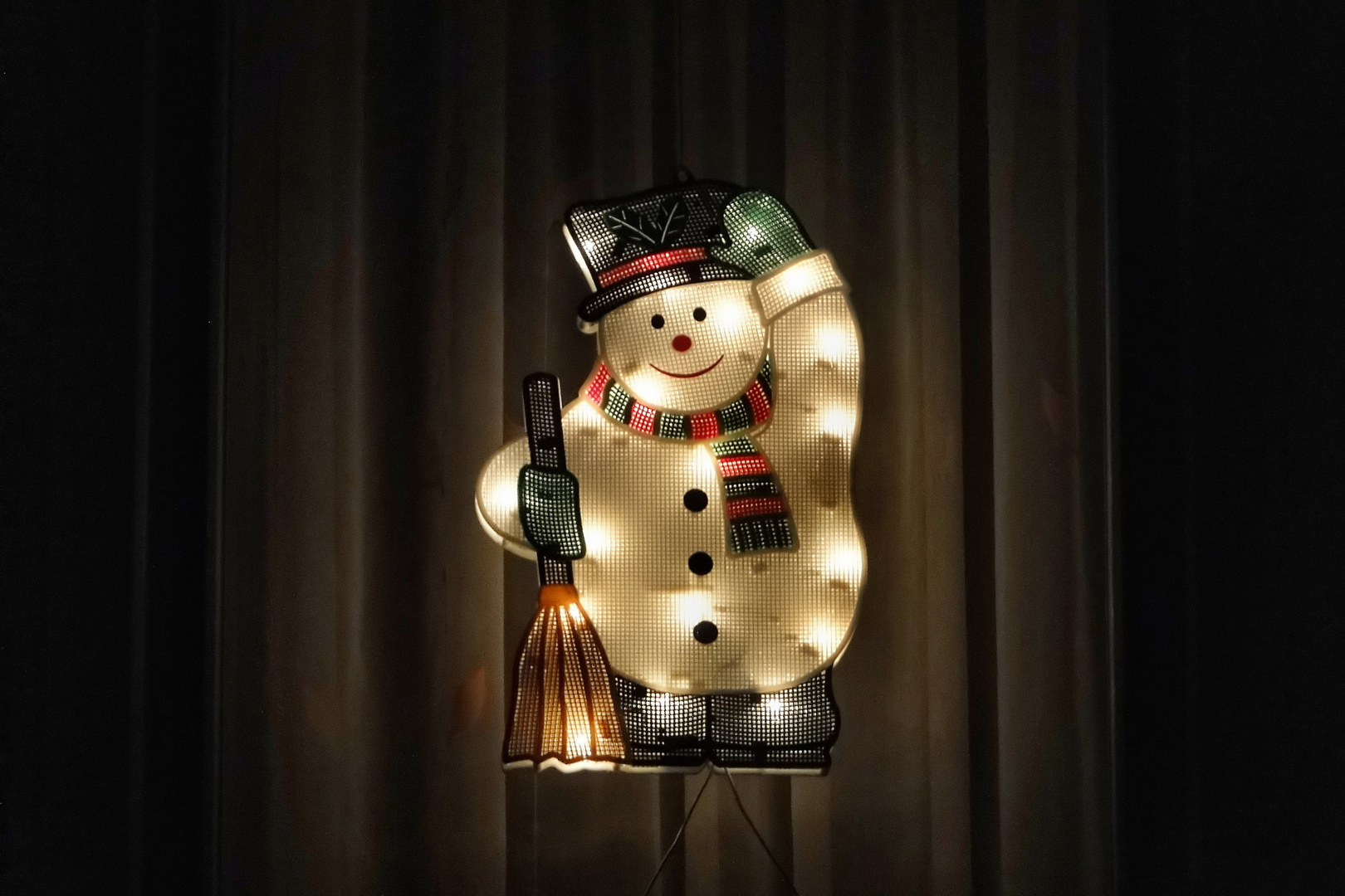 Mein Weihnachtswunsch:   Ein echter Schneemann!!!! -  aus Schnee