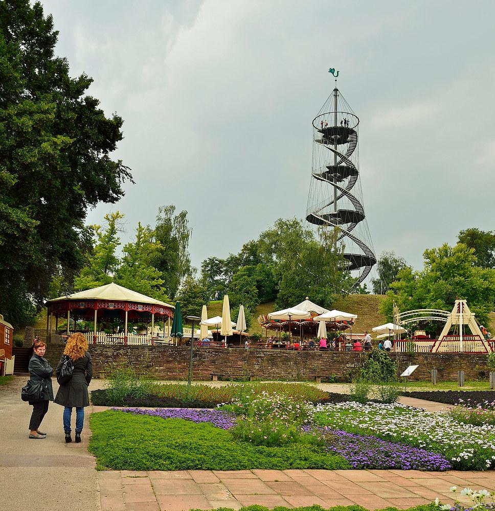 Mein Ziel der Killesbergturm in Stuttgart