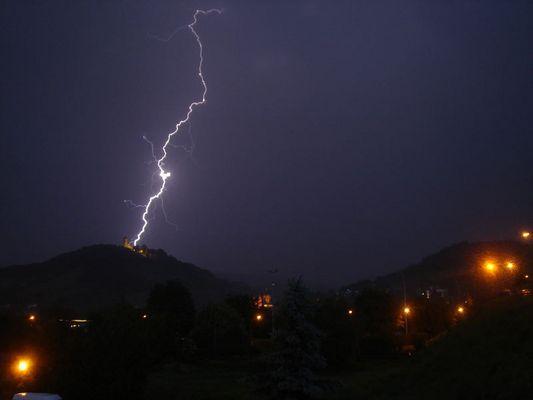 mein zweiter Blitz! :-)