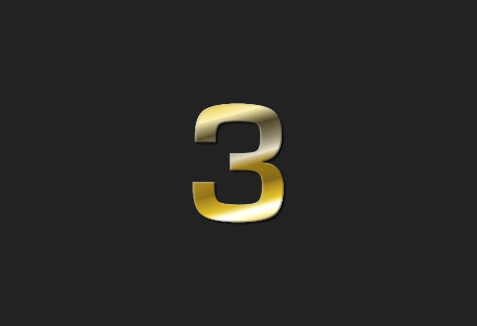 Meine 3 ...