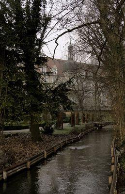 Meine Augsburger Ansichten - Kräutergarten (geschlossen)
