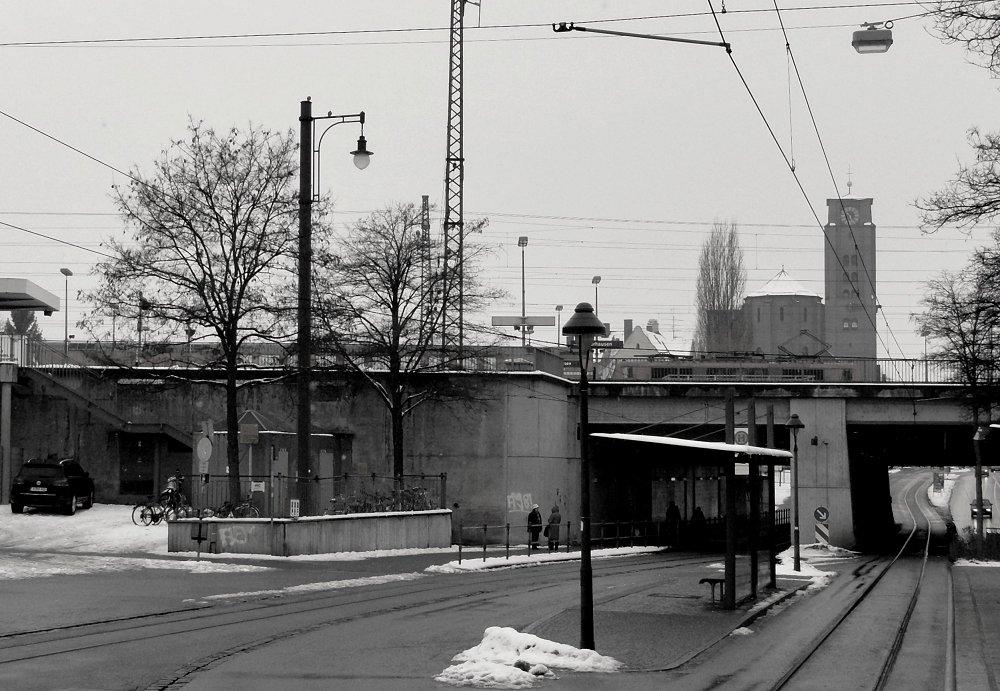 Meine Augsburger Ansichten VIII - Die Brücke