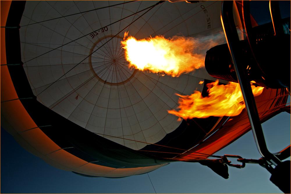 meine Ballonfahrt am 24.09.2007
