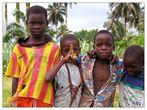 Meine Begleiter in der Roça Ribeira Peixe - São Tomé e Príncipe