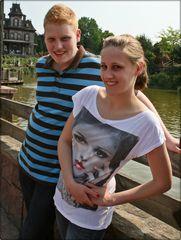 ...meine beiden Kids in Disneyland Paris