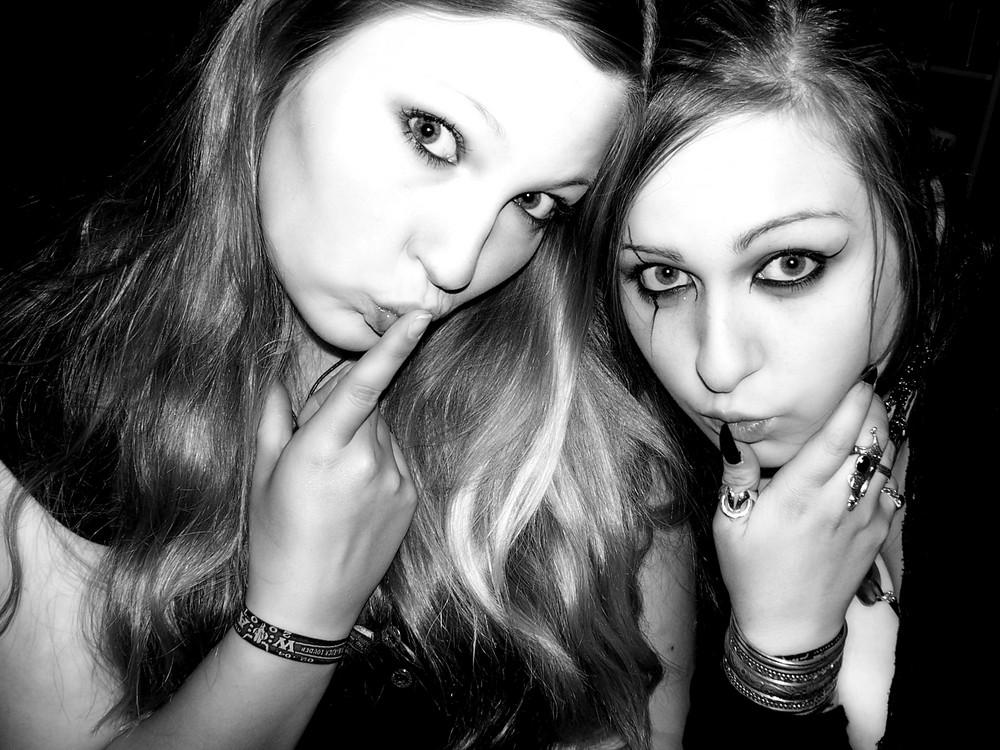 Meine beste Freundin und ich