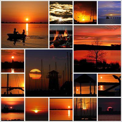 Meine besten Sonnenuntergänge 2012