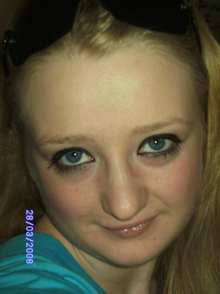Meine blaue, große Augen =))