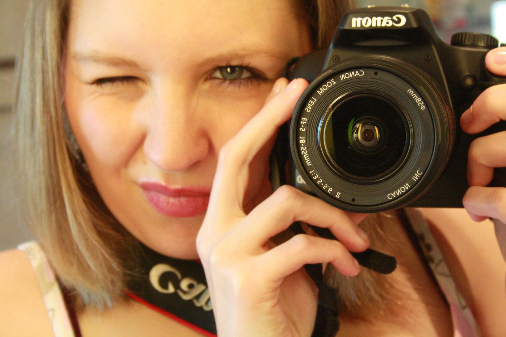 Meine Canon und ich