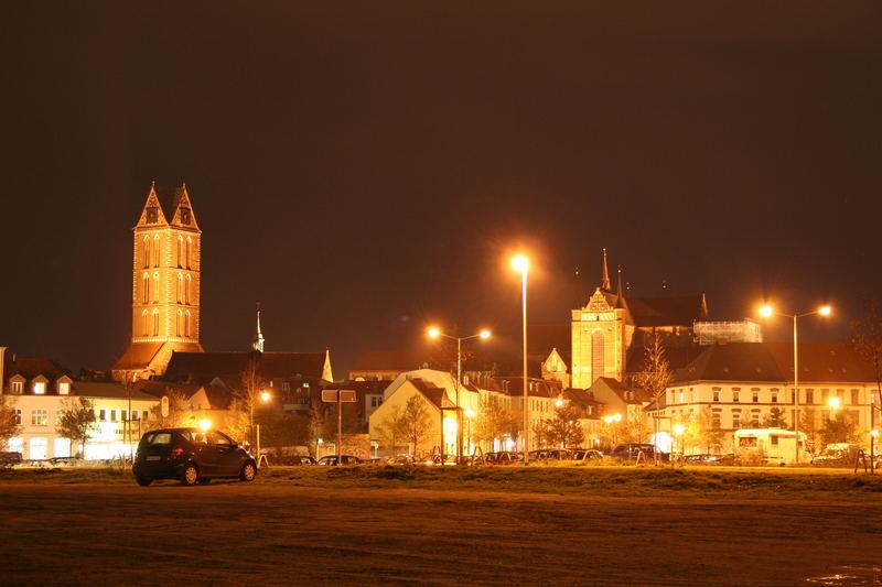 meine city bei nacht
