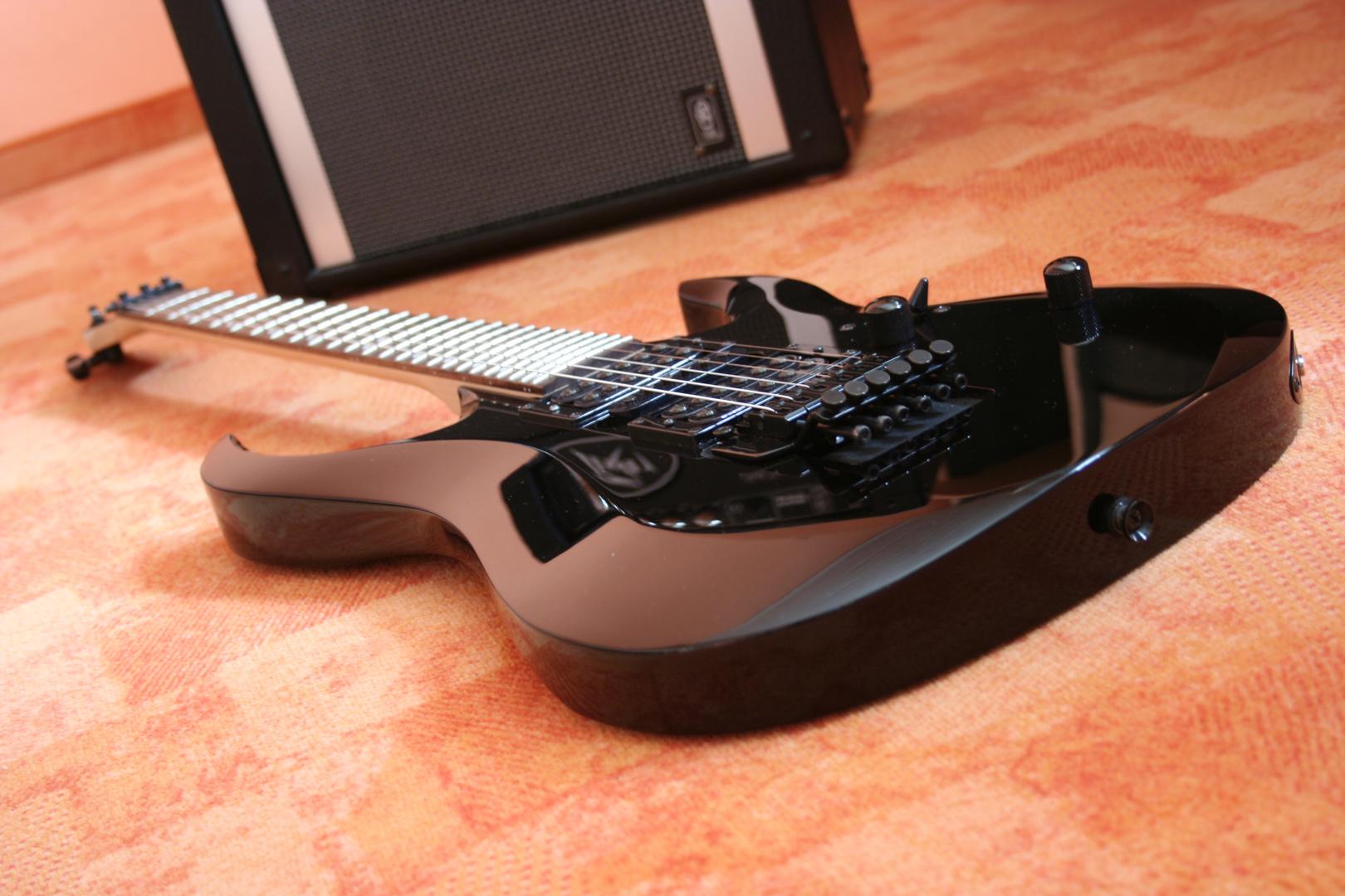 Meine E-Gitarre