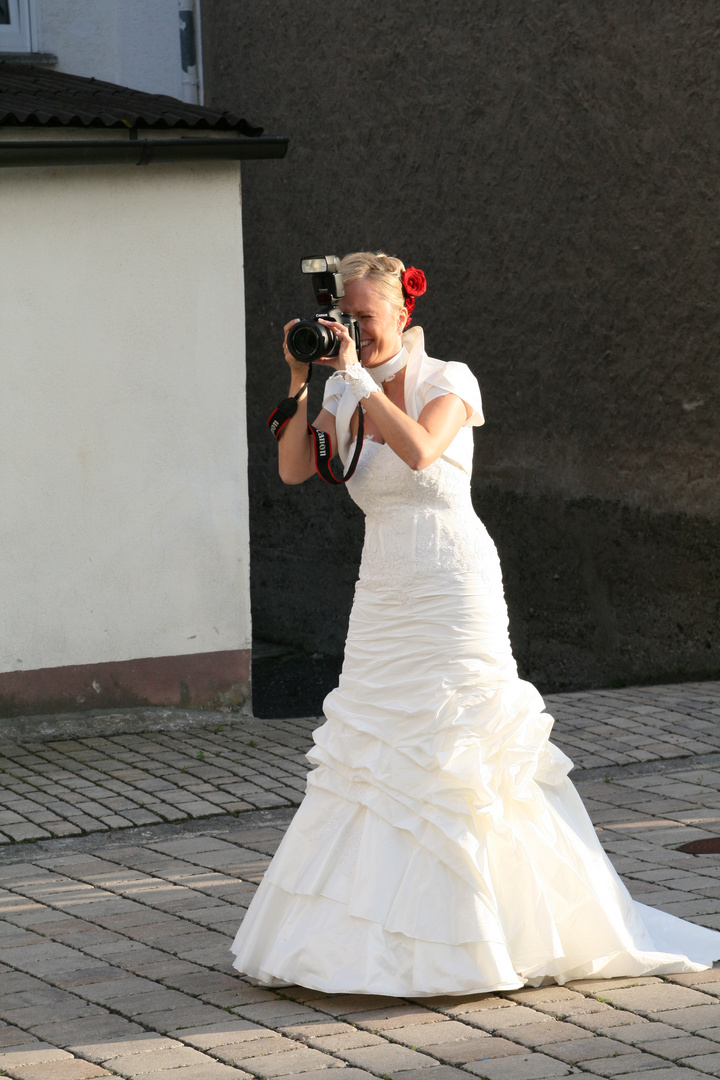 Meine eigene Hochzeit 2011 :-)