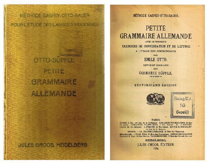 Meine erste deutsche Grammatik
