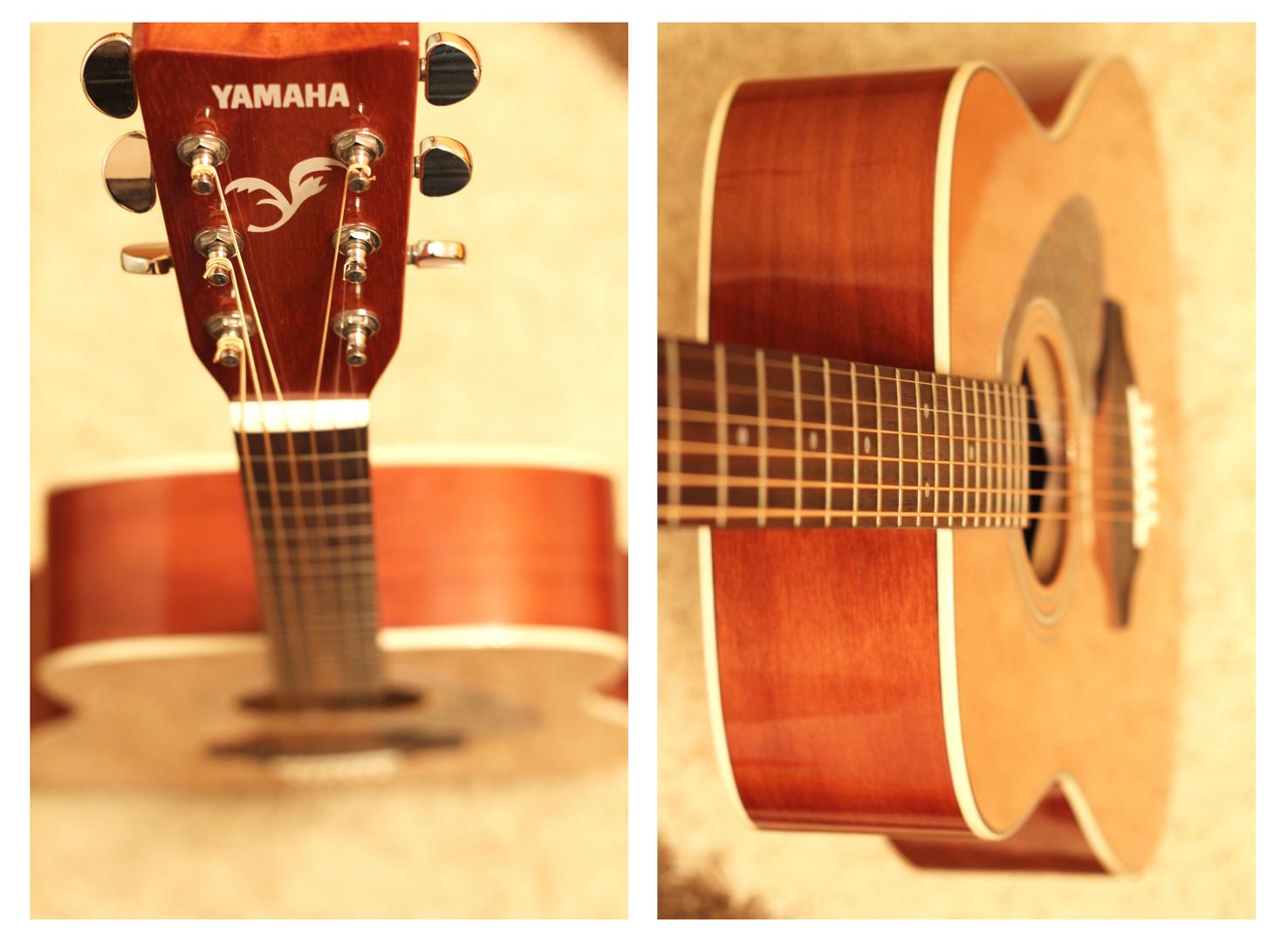 Meine erste Gitarre...