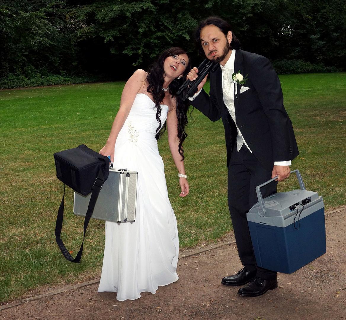 Meine erste Hochzeit...
