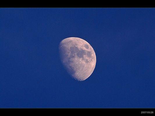 Meine erste Mondaufnahme