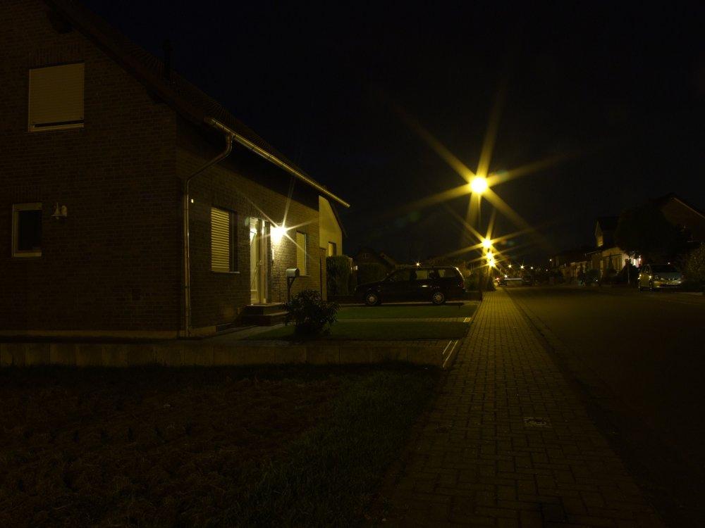meine erste Nachtaufnahme