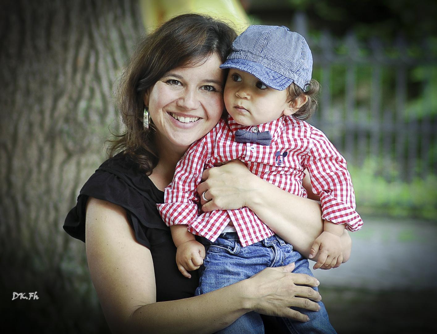 Meine Frau und mein Junior