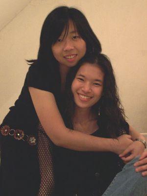 Meine Freundin und ich