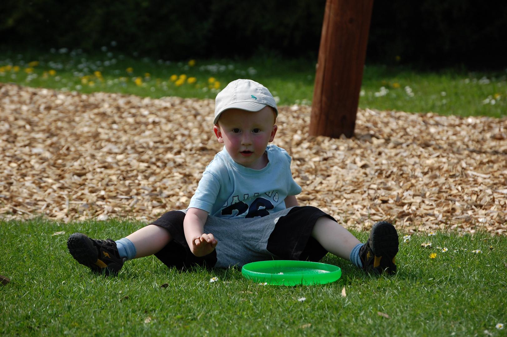 Meine Frisbee und ich