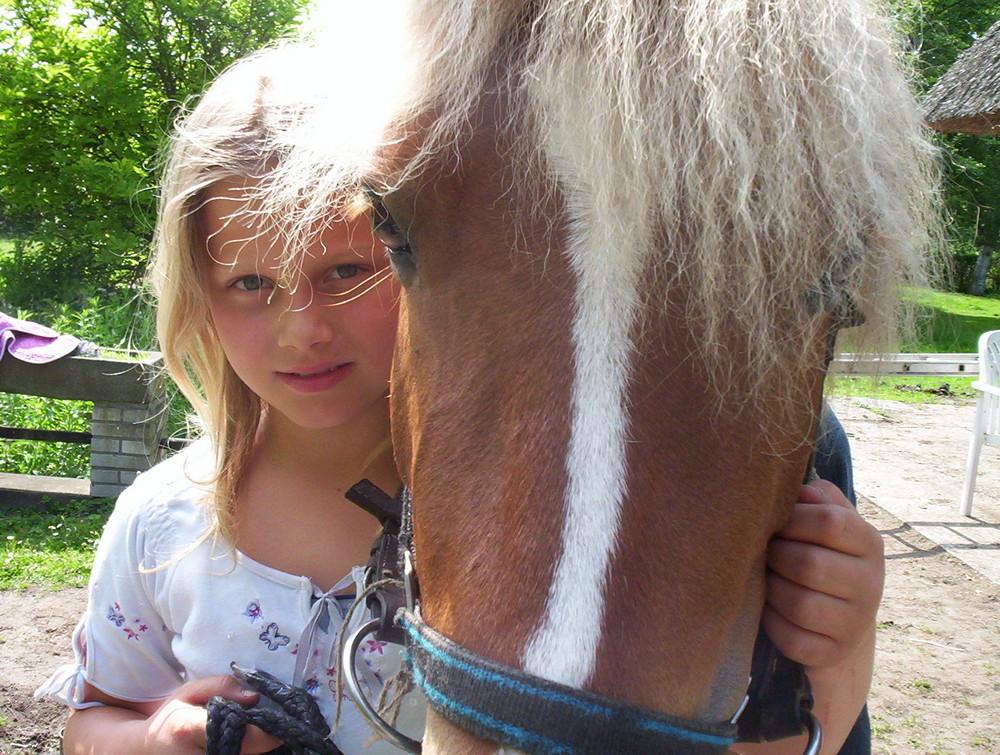 ...meine Große und Pferde...