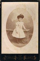 Meine Großtante Rose als sie 6 war