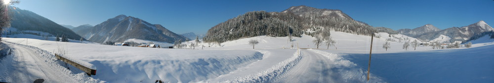 meine heimat im winter (ramsau - oö)