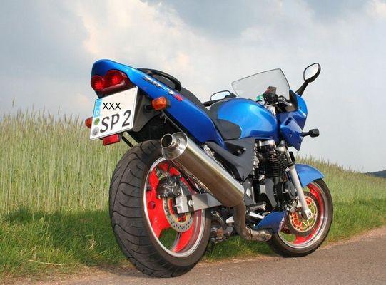 Meine Kawasaki ZR7 S