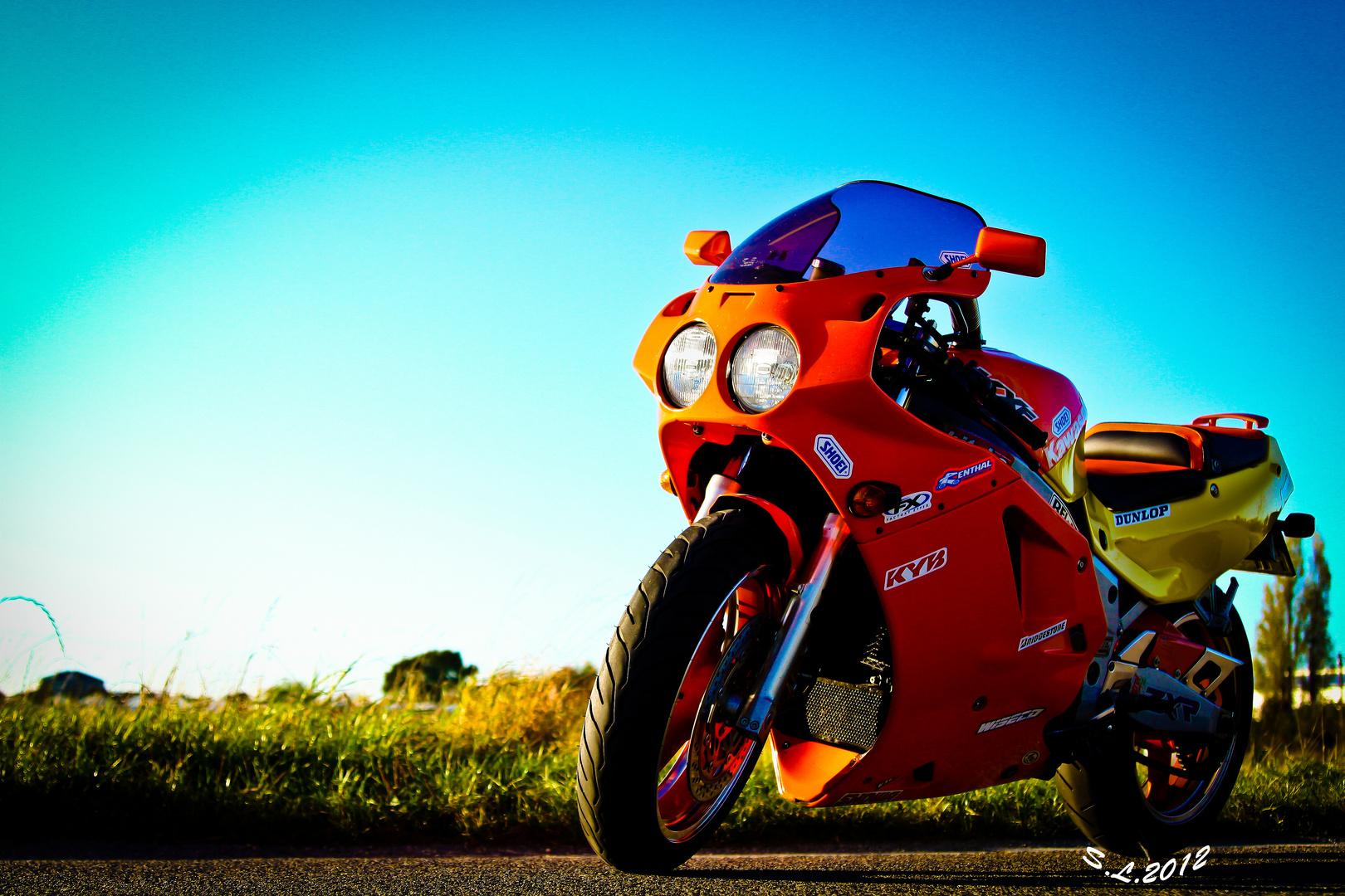 Meine Kawasaki ZXR 750 H2