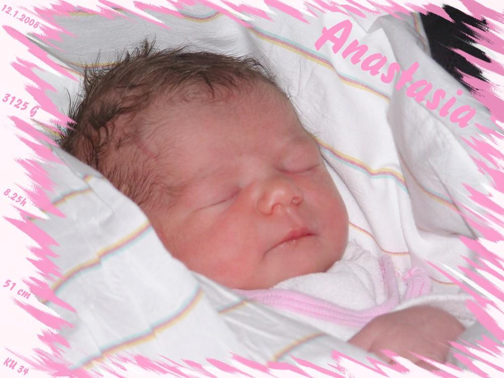 Meine kleine Nichte Anastasia