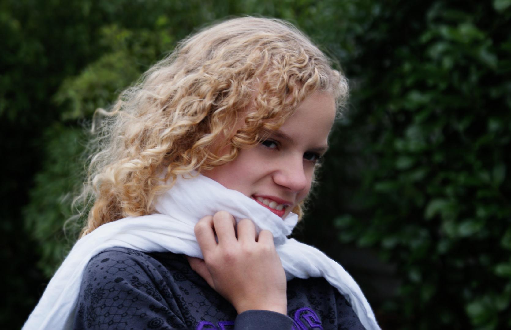 Meine kleine Schwester.