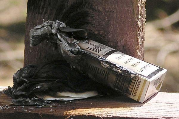 Meine letzte Zigarette...
