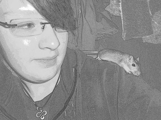 Meine Maus Mr. X und ich