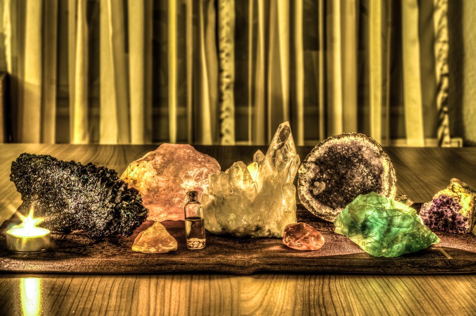 Meine Mineralien