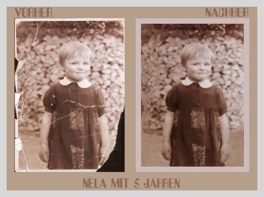 Meine Mutter VORHER- NACHHER